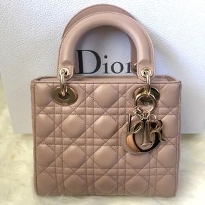 Dior My Lady Dior Small Lucky Badges Bag